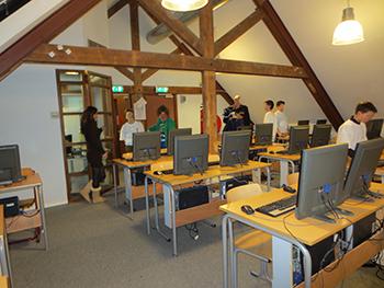 Informaticalokaal Vossius Gymnasium